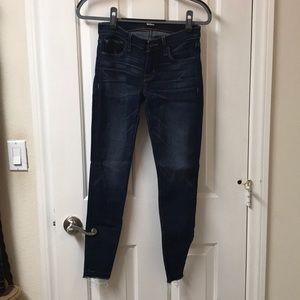 Hudson Krista skinny jean with release hem-25